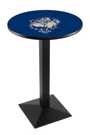 Georgetown L217 Logo Pub Table