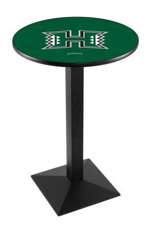 Hawaii L217 Logo Pub Table
