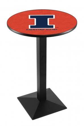 Illinois L217 Logo Pub Table