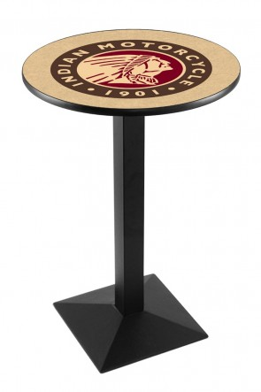 Indian Motorcycles L217 Logo Pub Table