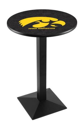Iowa L217 Logo Pub Table
