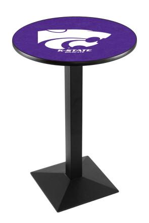 Kansas State L217 Logo Pub Table
