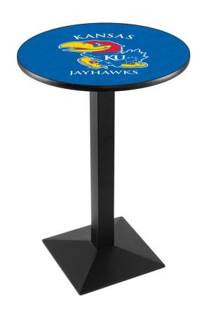 Kansas L217 Logo Pub Table