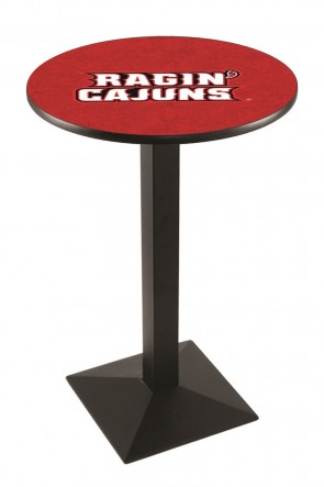 Louisiana at Lafayette L217 Logo Pub Table