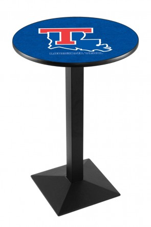 Louisiana Tech L217 Logo Pub Table
