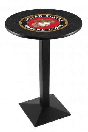 US Marine Corps L217 Logo Pub Table