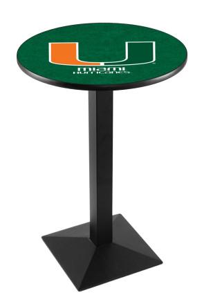 Miami L217 Logo Pub Table