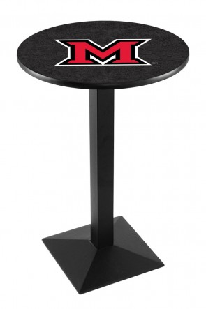 Miami of Ohio L217 Logo Pub Table