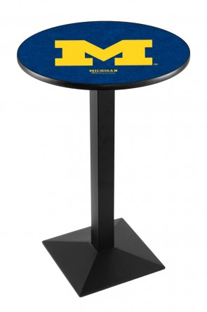 Michigan L217 Logo Pub Table