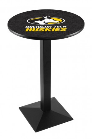 Michigan Tech L217 Logo Pub Table