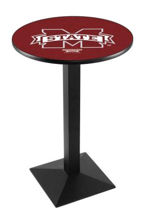 Mississippi State L217 Logo Pub Table