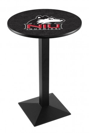 Northern Illinois L217 Logo Pub Table