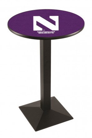 Northwestern L217 Logo Pub Table