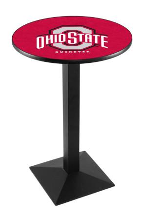 Ohio State L217 Logo Pub Table