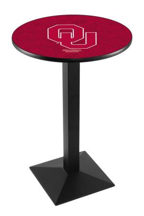 Oklahoma L217 Logo Pub Table