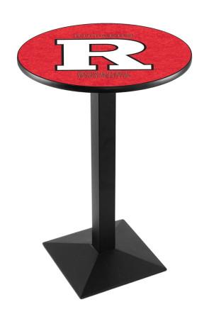 Rutgers L217 Logo Pub Table