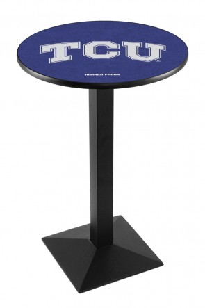 Texas Christian L217 Logo Pub Table