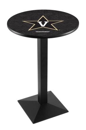 Vanderbilt L217 Logo Pub Table