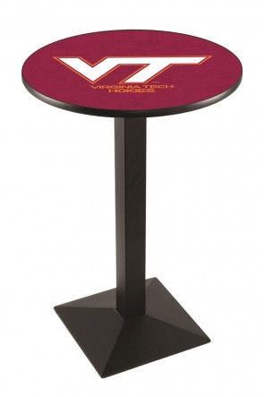Virginia Tech L217 Logo Pub Table