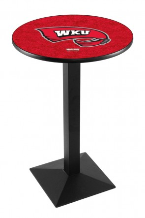 Western Kentucky L217 Logo Pub Table