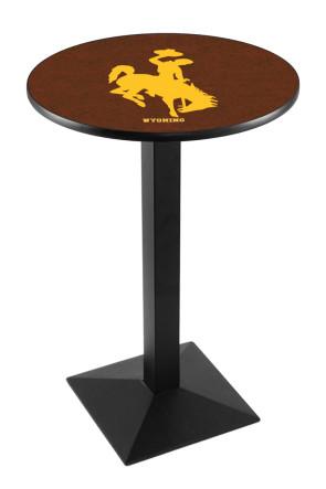 Wyoming L217 Logo Pub Table