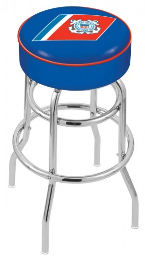 L7C1 US Coast Guard Logo Stool