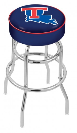 L7C1 Louisiana Tech Logo Stool