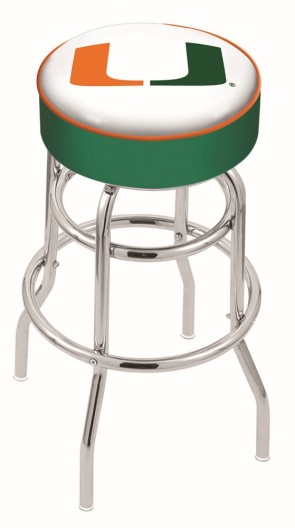 L7C1 University of Miami Logo Stool