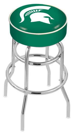 L7C1 Michigan State University Logo Stool
