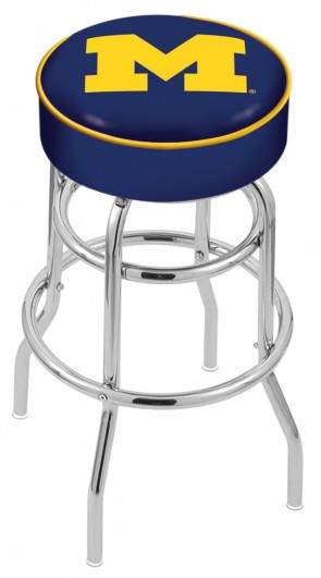 L7C1 University of Michigan Logo Stool