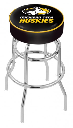 L7C1 Michigan Tech Logo Stool