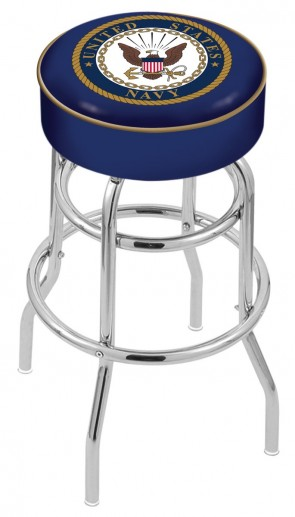 L7C1 US Navy Logo Stool