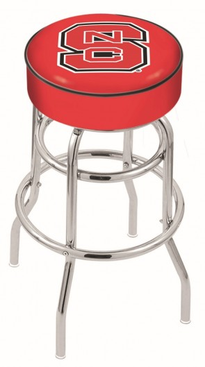 L7C1 North Carolina State Logo Stool