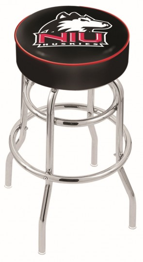 L7C1 Northern Illinois University Logo Stool