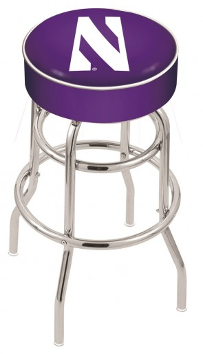 L7C1 Northwestern University Logo Stool