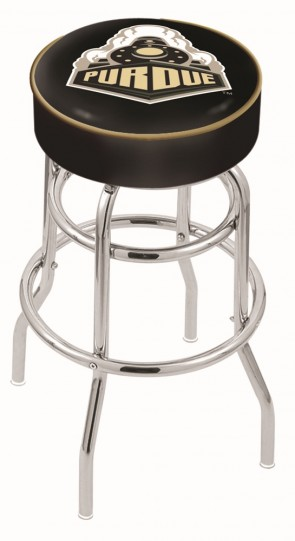 L7C1 Purdue University Logo Stool
