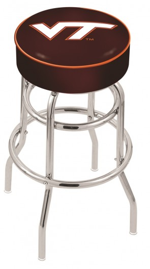L7C1 Virginia Tech Logo Stool