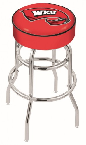 L7C1 Western Kentucky University Logo Stool