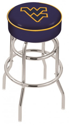 L7C1 West Virginia University Logo Stool