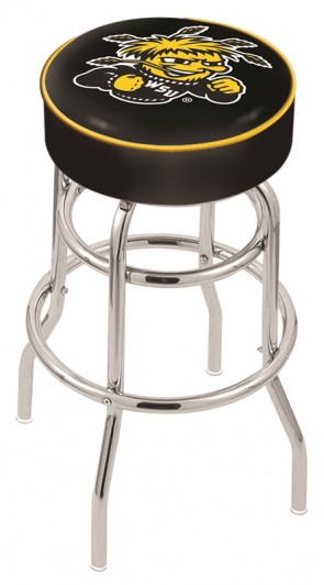 L7C1 Wichita State University Logo Stool