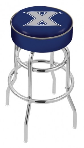 L7C1 Xavier University Logo Stool