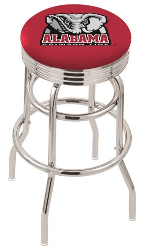 Alabama Elephant L7C3C Bar Stool
