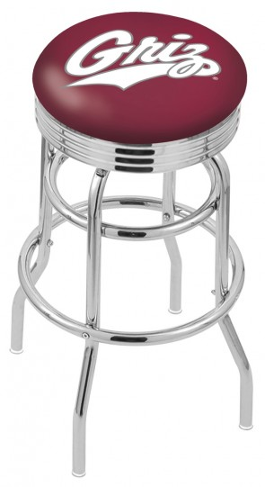 L7C3C University of Montana Logo Bar Stool