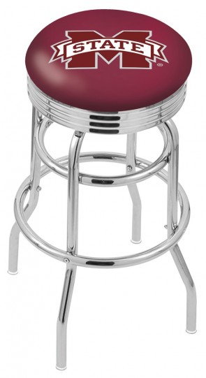 L7C3C Mississippi State University Logo Bar Stool