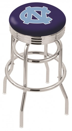 L7C3C University of North Carolina Logo Bar Stool