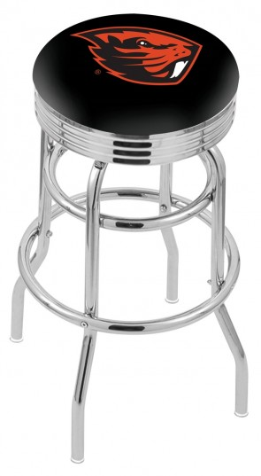 L7C3C Oregon State University Logo Bar Stool