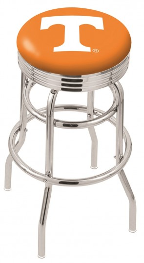 L7C3C University of Tennessee Logo Bar Stool