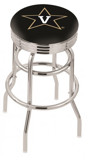 L7C3C Vanderbilt University Logo Bar Stool