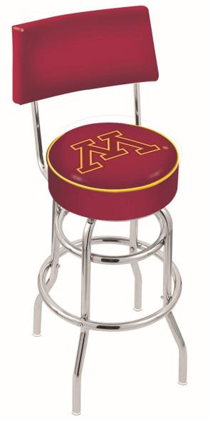 L7C4 University of Minnesota Logo Bar Stool