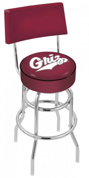 L7C4 University of Montana Logo Bar Stool